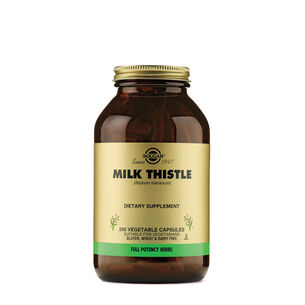 GNC 밀크시슬 Solgar Milk Thistle