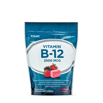 Vitamin B-12 Soft Chews - Berry BlastBerry | GNC