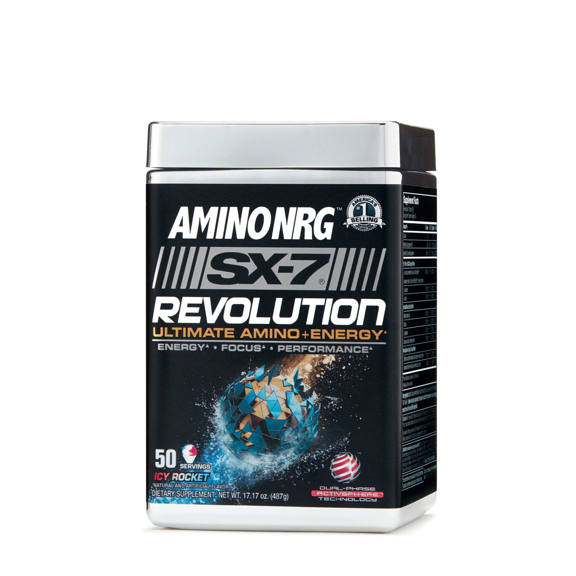 MuscleTech® Amino NRG™ SX-7 Revolution - Icy Rocket Freeze™ | GNC
