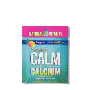 Natural Calm Plus Calcium - Raspberry-Lemon | GNC