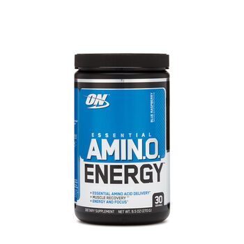 Essential AMIN.O. Energy - Blue RaspberryBlue Raspberry | GNC