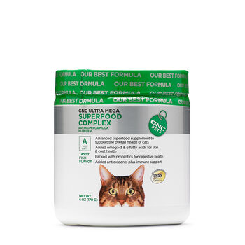 Ultra Mega Superfood Complex for All Cats - Fish Flavor | GNC