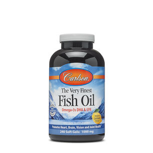 The Very Finest Fish Oil - Natural Lemon Flavor | GNC
