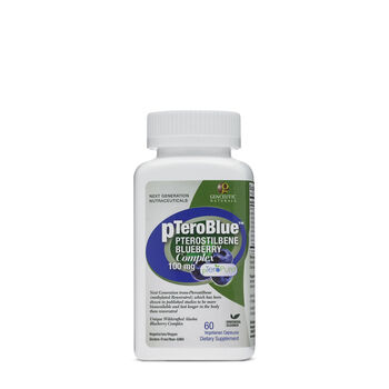 pTeroBlue™ Pterostilbene Blueberry Complex 100 mg | GNC
