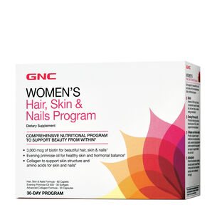 GNC Women's Hair Skin & Nails Program