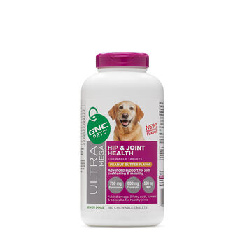 Ultra Mega Hip and Joint Health - Senior Dogs - Peanut Butter FlavorPeanut Butter Flavor | GNC