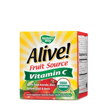Alive!® Fruit Source Vitamin C | GNC