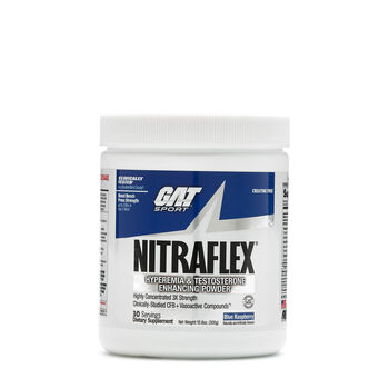 NITRAFLEX® Hyperemia & Testosterone Enhancing PWD - Blue RaspberryBlue Raspberry | GNC