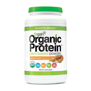 Organic Protein™ Plant Based Powder - Peanut Butter | GNC
