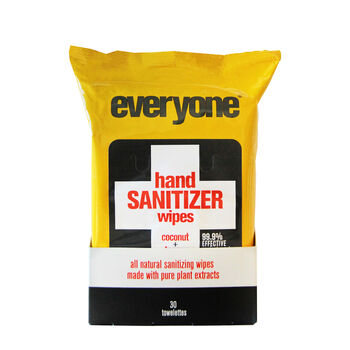 Hand Sanitizing Wipes - Coconut and Lemon | GNC