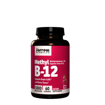 Methyl B-12 5000 MG - Cherry | GNC