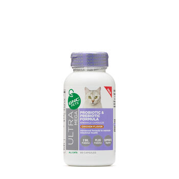 Ultra Mega Probiotic and Prebiotic Formula - All Cats - Chicken Flavor | GNC