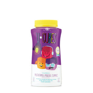 U-Cubes - Multi-Vitamin and Mineral Gummies | GNC