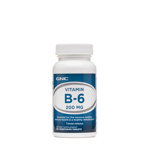 Vitamin B-6 200 MG | GNC