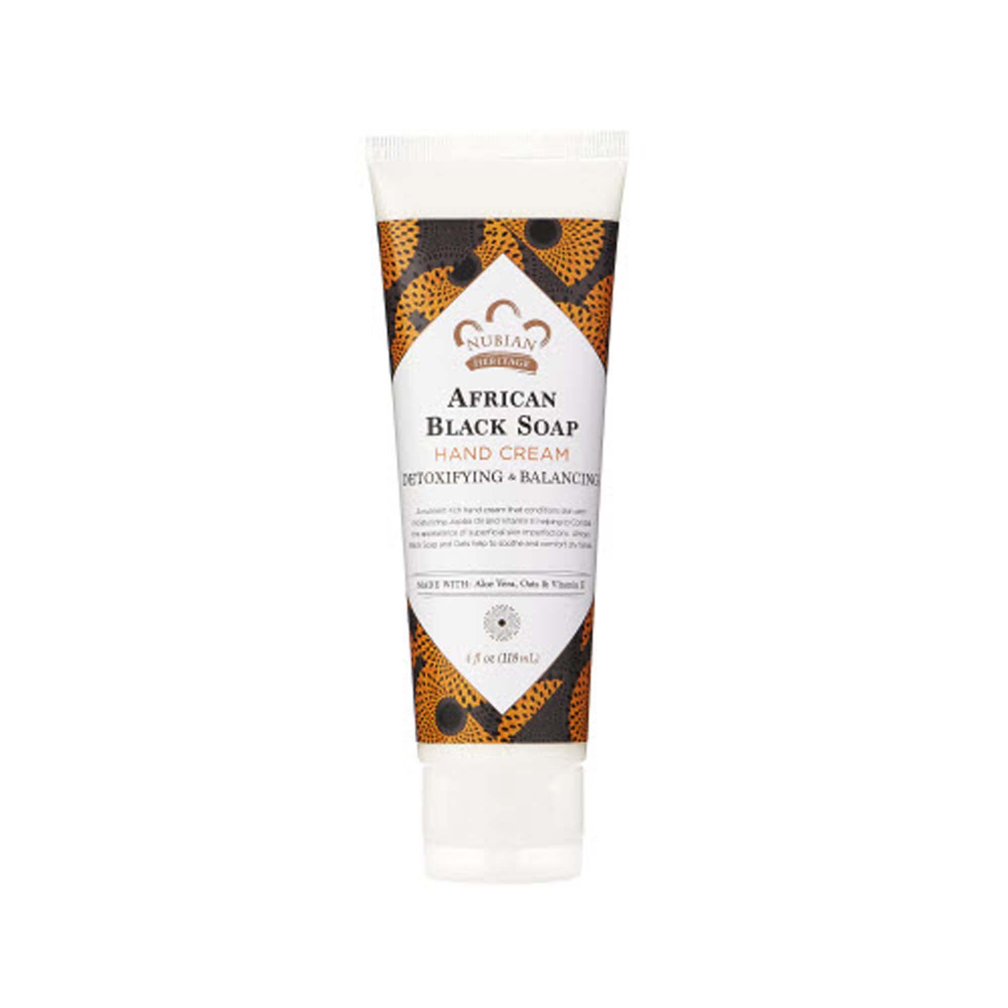 African Black Soap Hand Cream 4 Oz(s) Nubian Heritage Hand Care