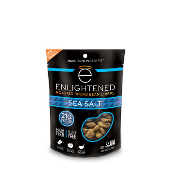 Roasted Broad Bean Crisps - Sea SaltSea Salt | GNC