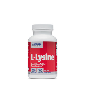 L-Lysine 500 MILLIGRAMS | GNC