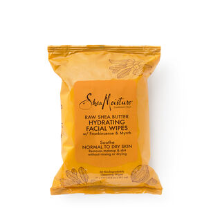 Raw Shea Biodegradable Cleansing Wipes | GNC