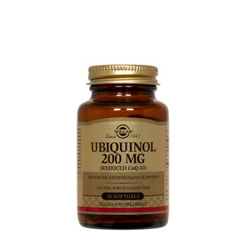 Ubiquinol 200 mg (Reduced CoQ-10) | GNC