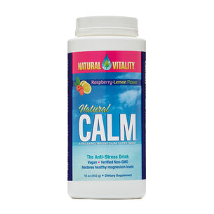 Natural Calm - Raspberry-Lemon | GNC