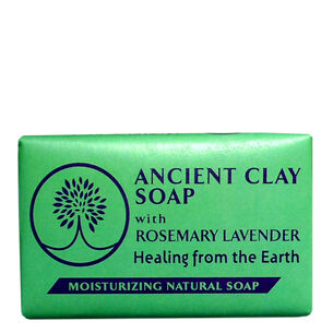 Ancient Clay Soap - Rosemary Lavender   GNC