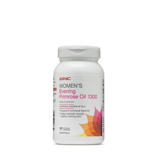 GNC 우먼스 달맞이꽃 종자유 (90정) GNC Women's Evening Primrose Oil 1300, 90 Capsules