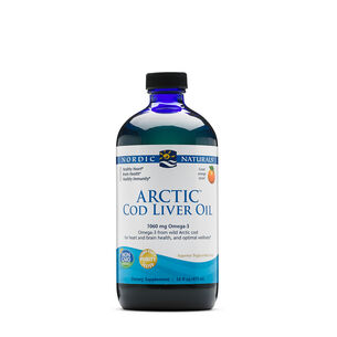 Arctic Cod Liver Oil - Orange | GNC