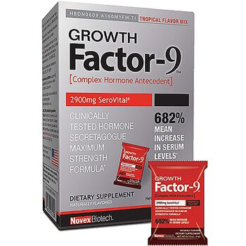 Growth Factor-9™ - Tropical Flavor | GNC