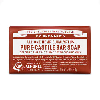 All-One Hemp Eucalyptus Pure-Castile Bar Soap | GNC