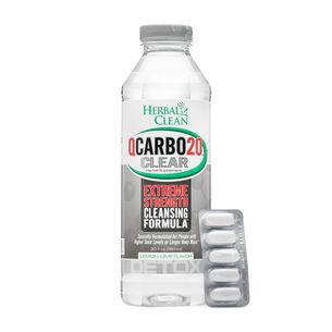 QCARBO20™ CLEAR - Lemon Lime Flavor | GNC