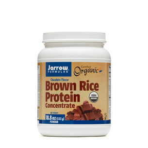 Brown Rice Protein Concentrate - ChocolateChocolate | GNC