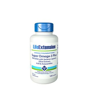 Super Omega-3 EPA-DHA with Sesame Lignans, Olive Extract, Krill & Astaxanthin | GNC