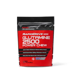 RapidDrive® Glutamine 2500 Power Chews - Grape Berry | GNC