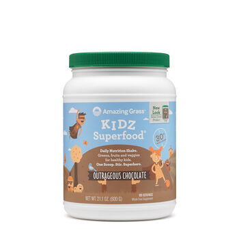 KIDZ Superfood® - Outrageous ChocolateOutrageous Chocolate | GNC