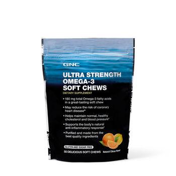 Ultra Strength OMEGA-3 Soft Chews - Citrus | GNC