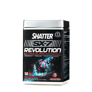 Shatter™ SX-7® Revolution Ultimate Pre Workout - Wild Cherry PunchWild Cherry Punch | GNC