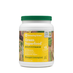 Green Superfood® Multivitamin - Pineapple Lemongrass | GNC