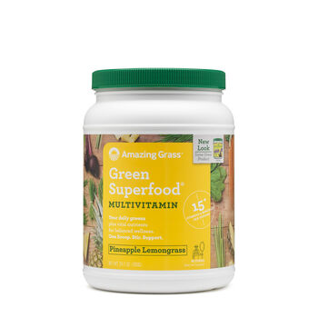 Green Superfood® Multivitamin - Pineapple Lemongrass   GNC