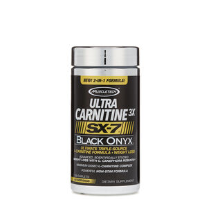 Ultra Carnitine 3X™ SX-7® Black Onyx™ | GNC
