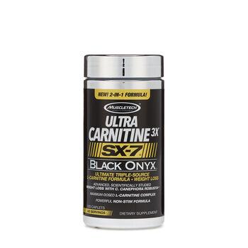 Muscletech 174 Ultra Carnitine 3x Sx 7 174 Black Onyx Gnc