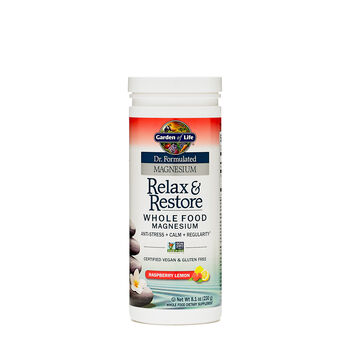 Relax & Restore Whole Food Magnesium - Raspberry LemonRaspberry Lemon | GNC