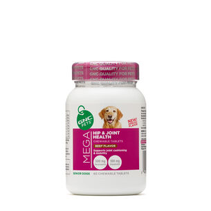 Mega Hip and Joint Health - Senior Dogs - Beef FlavorBeef | GNC
