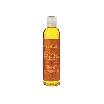 Argan Oil & Raw Shea Bath, Body & Massage Oil with Frankincense & Myrrh | GNC