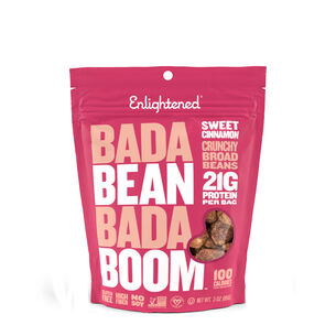 Roasted Broad Bean Crisps - Sweet Cinnamon | GNC