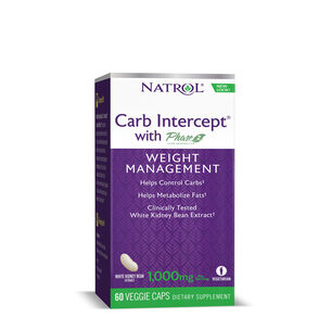 GNC Natrol White Kidney Bean Carb Intercept Phase 2