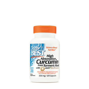 High Absoprtion Curcumin from Turmeric Root 50 mg | GNC