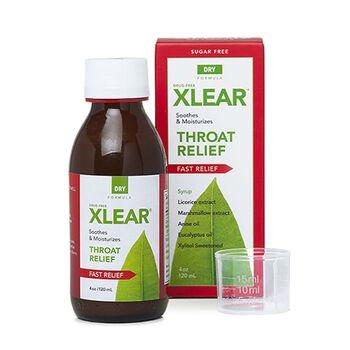 Xlear® Throat Relief - Dry Formula | GNC