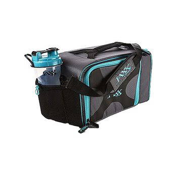 FitPak XL Meal Prep Bag w/ Portion Control Container Set - Teal | GNC