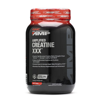 Amplified Creatine XXX™ - Fruit PunchFruit Punch | GNC