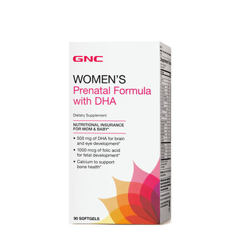 Prenatal Formula with DHA   GNC